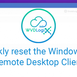 How to reset the Remote Desktop Client on Windows 10